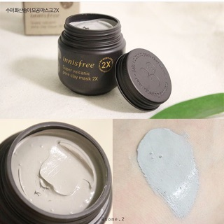 Mặt nạ Innis Super Volcanic Pore Clay Mask 2X