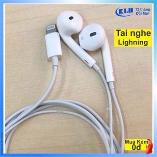 Tai nghe chân lightning BLT cho các dòng iphone ip 5 6 7 8 x 11 12, hỗ trợ mic nghe gọi kết nối bluetooth KLH Shop