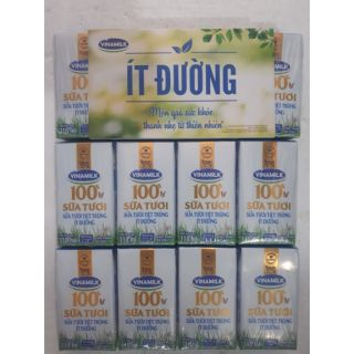 Một thùng sữa tươi ít đường Vinamilk 110ml (48 hộp)