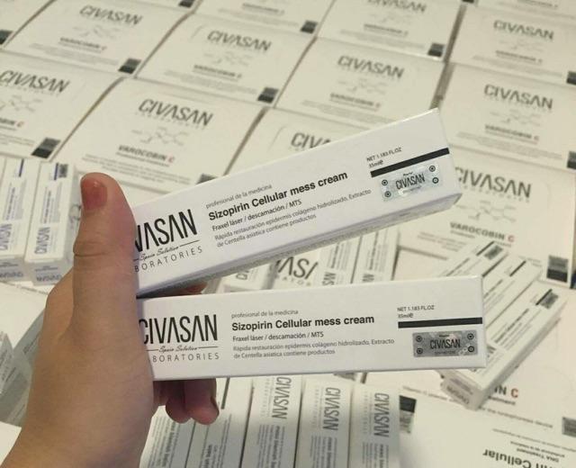 Kem tái tạo, phục hồi da Sizopirin Cellular mess cream sau peel, lăn kim,  vi kim   Shopee Việt Nam