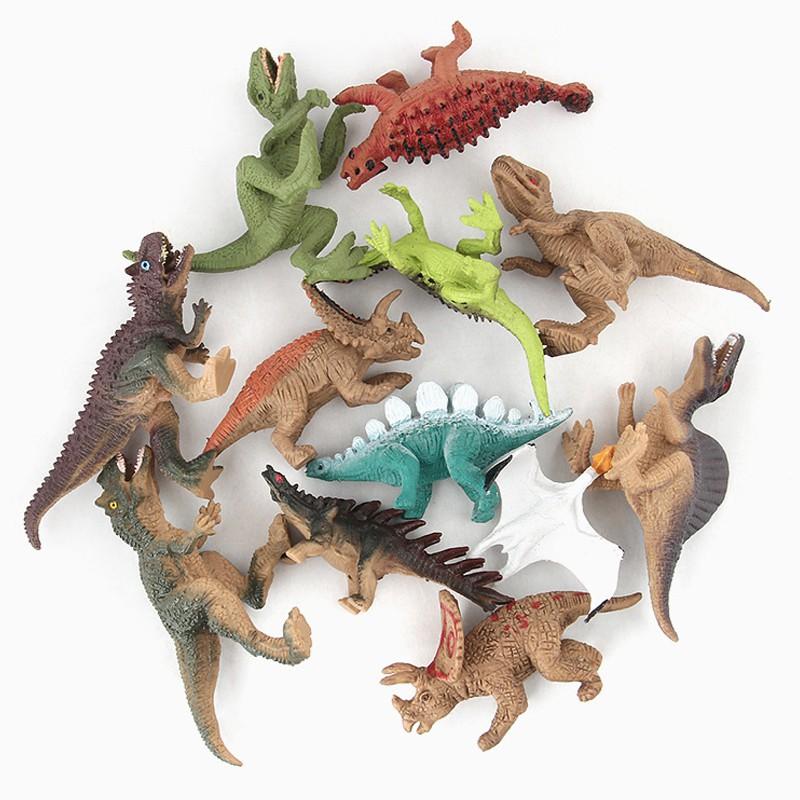 [Mã TOYJAN hoàn 20K xu đơn 50K] Bộ 12 mô hình khủng long kỉ Jurassic World (4×8 cm) – New4all Dinosaurs