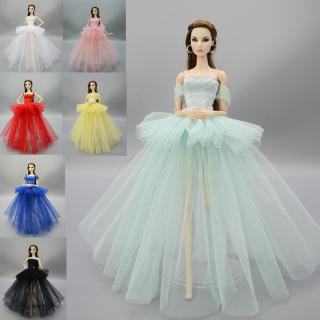 Pretty Princess Dress Toy For Children SD Party Clothes 1/6 Dolls Accessories Doll Clothes Princess Wedding Dress BJD