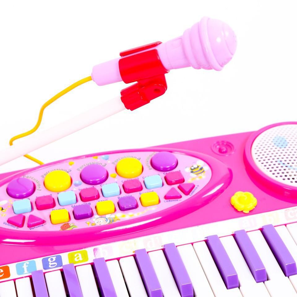 Giá Siêu Rẻ-Đàn Organ điện tử kèm Micro cho bé yêu
