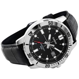 Đồng hồ nam dây da Casio Standard chính hãng Anh Khuê MTP-VD01L-1EVUDF
