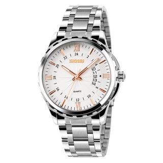 [Tặng vòng tay] Đồng hồ nam Skmei SK9069 dây thép chống gỉ