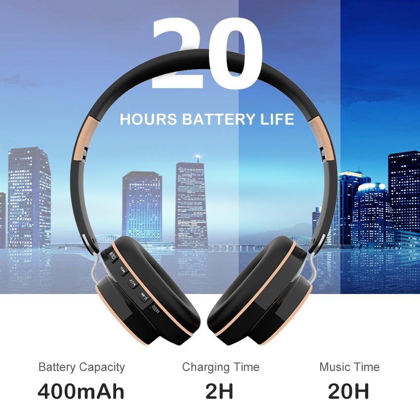 Tai nghe Wiresto không dây kết nối Bluetooth 5.0 thiết kế giảm tiếng ồn hiệu quả
