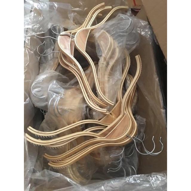Combo 100 móc gỗ ép - 3101339 , 1074356396 , 322_1074356396 , 770000 , Combo-100-moc-go-ep-322_1074356396 , shopee.vn , Combo 100 móc gỗ ép
