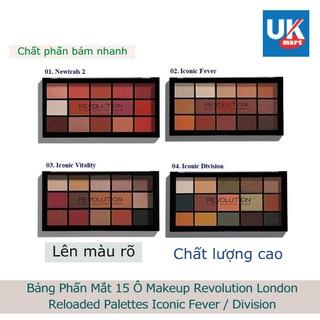 Bảng Phấn Mắt 15 Ô Makeup Revolution London Reloaded Palettes thumbnail
