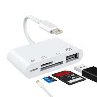 Đầu Đọc Thẻ Nhớ 4 Trong 1 Cho Iphone Ipad Series