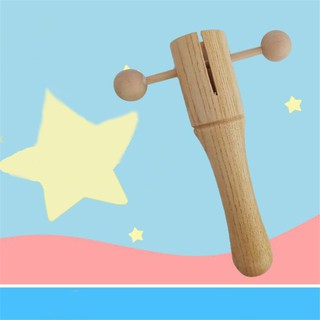 Wooden Instrument Cylinder Early Education Teaching Aid
