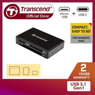 Đầu Đọc Thẻ Nhớ Transcend Multi-Card Reader RDF8K USB 3.1