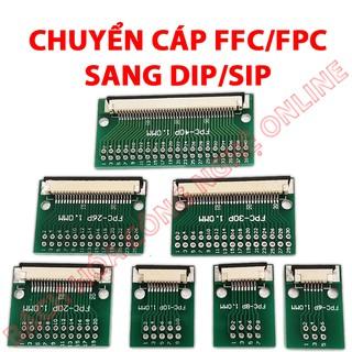 Adapter chuyển FFC FPC sang DIP SIP 2.54mm