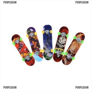 PURPLESUN Finger Board Tech Deck Truck Skateboard Boy Kid Children Party Toy