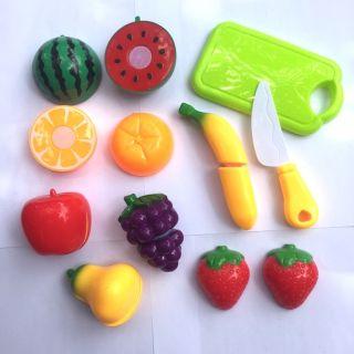 Đồ chơi cắt hoa quả – rau củ nhữa cho bé