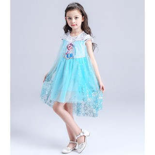 Váy đuôi cá cho bé gái hóa trang nàng công chúa elsa E151