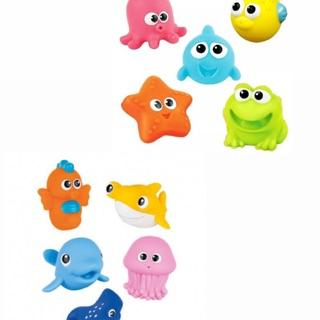 Bộ đồ chơi tắm sinh vật biển Winfun 10 con
