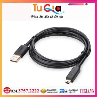[Mã ELORDER5 giảm 10K đơn 20K] Cáp USB 2.0 to USB Mini 1,5m Ugreen UG-10385 Hàng Chính Hãng