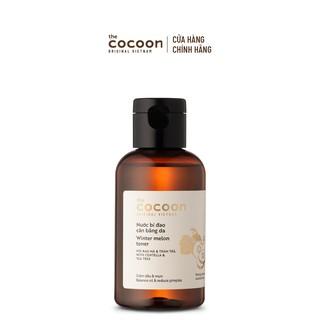 Nước bí đao cân bằng da (toner) Cocoon giảm dầu & mụn 140ml