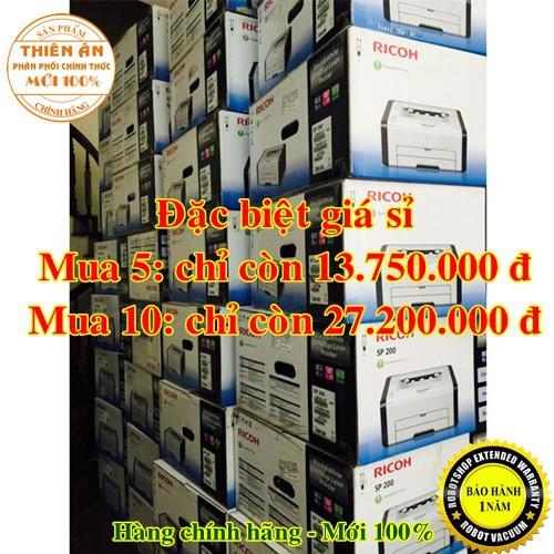 Máy in Ricoh SP310DN, in đảo 2 mặt tự động, in qua mạng LAN, Bảo hành chính hãng Giá chỉ 2.818.000₫