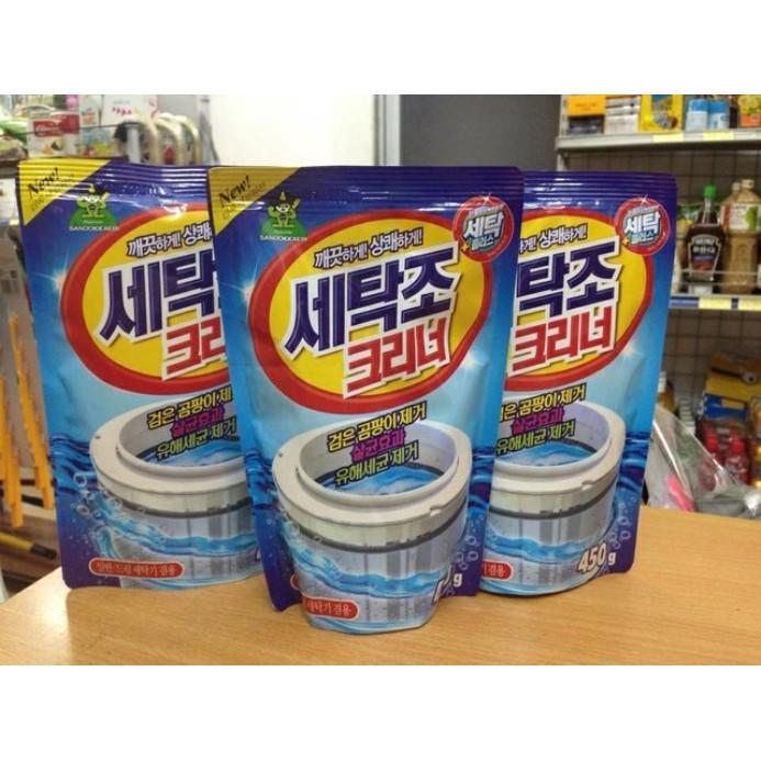 Bộ 3 Gói bột tẩy vệ sinh lồng máy giặt 450g cao cấp - 2419594 , 124190614 , 322_124190614 , 125000 , Bo-3-Goi-bot-tay-ve-sinh-long-may-giat-450g-cao-cap-322_124190614 , shopee.vn , Bộ 3 Gói bột tẩy vệ sinh lồng máy giặt 450g cao cấp