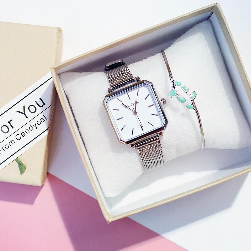 Đồng hồ nam nữ Candycat thời trang thông minh cực đẹp DH39