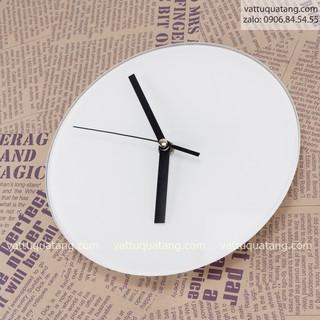 Phôi đồng hồ thuỷ tinh tròn 19.5cm