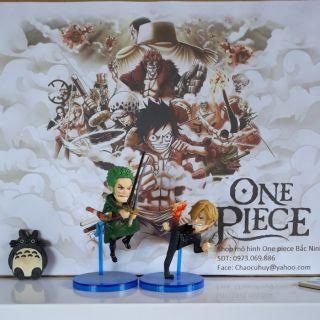 Mô Hình Wcf Zoro & Sanji OnePiece
