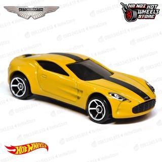 Xe Hot Wheels Aston Martin One-77 đồ chơi ô tô mô hình tỉ lệ 1:64
