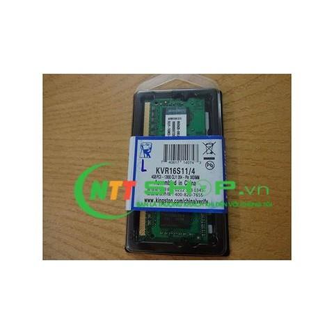 Ram Laptop Kingston DDR3 4GB Bus 1600Mhz PC3-12800 1.5V
