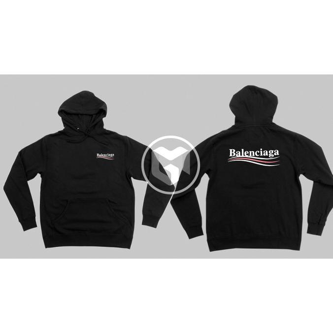 Áo khoác Hoodie Balenciaga 2 màu trơn thời trang cho nam và nữ