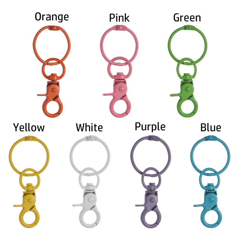 Móc khóa kim loại làm móc chìa khóa trang sức tiện dụng