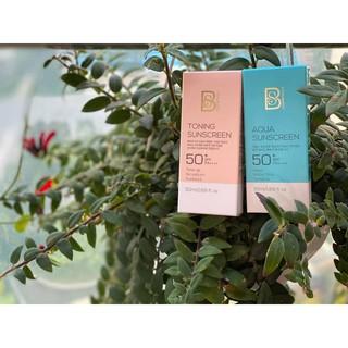 Kem Chống Nắng Kiềm Dầu, Nâng Tông SPF50+ PA++++ BS Cosmetics Hàn Quốc
