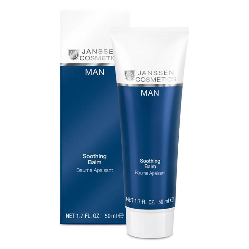 Sản phẩm trắng da dịu nhẹ dành cho Nam janssen cosmetics - SOOTHING BALM BAUME APAISANT 50ML