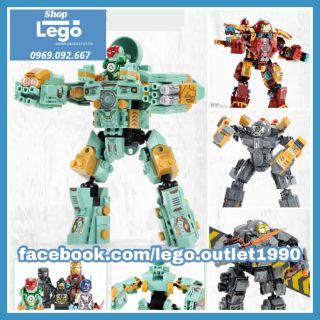 Xếp hình Iron Man Hulkbuster Lego Minifigures SY1337 – SY1340