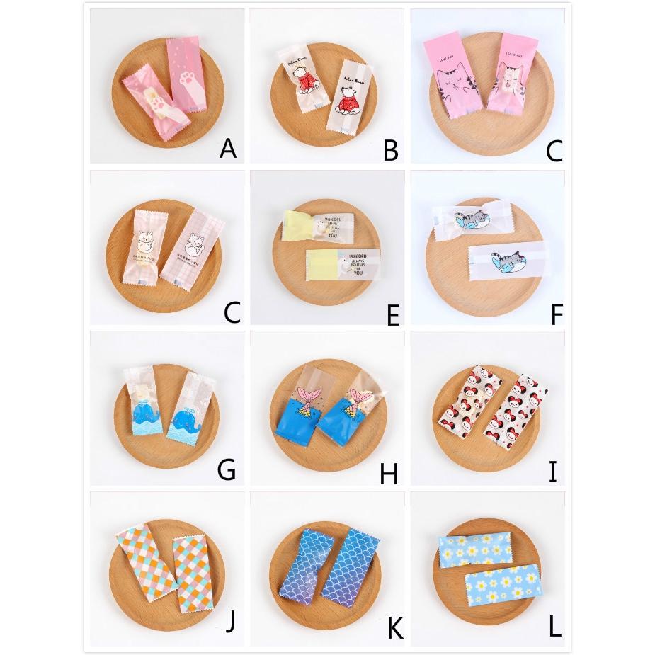 Set 100 Túi Đựng Bánh Kẹo Nhỏ Gọn Tiện Lợi