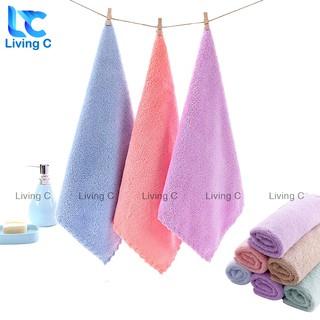 Khăn lau tay siêu mềm Living C , khăn lau đa năng mềm mại siêu thấm nước _KLC thumbnail