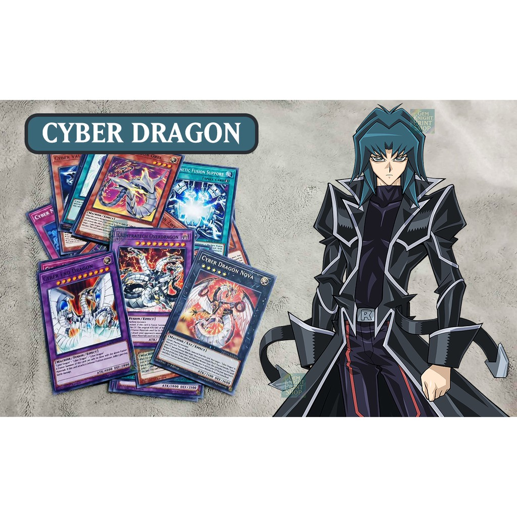 [Bài In] Bộ bài Yugioh – Legendary Dragons of Atlantis – B Deck (Kaiser Ryo)