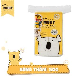 Bông miếng Baby Moby cỡ nhỏ (100 miếng gói)