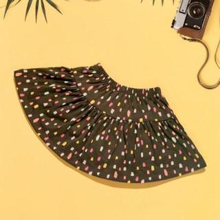 chân váy cotton xuất dư cho bé từ 1-8 tuổi(có quần trong)
