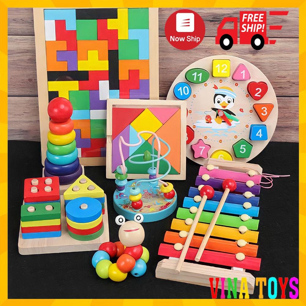 Đồ chơi gỗ thông minh phát triển tư duy cho bé – Đồ Chơi Gỗ Giáo Dục VINATOYS