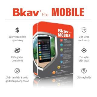 Phần Mềm Bảo Vệ Điện Thoại Bkav Mobile Security – Hàng chính hãng