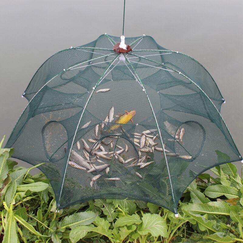Lưới bát quái chuyên gia bắt cá (8 lỗ) - lưới đánh bắt cá tiện lợi Đồ dùng gia đình