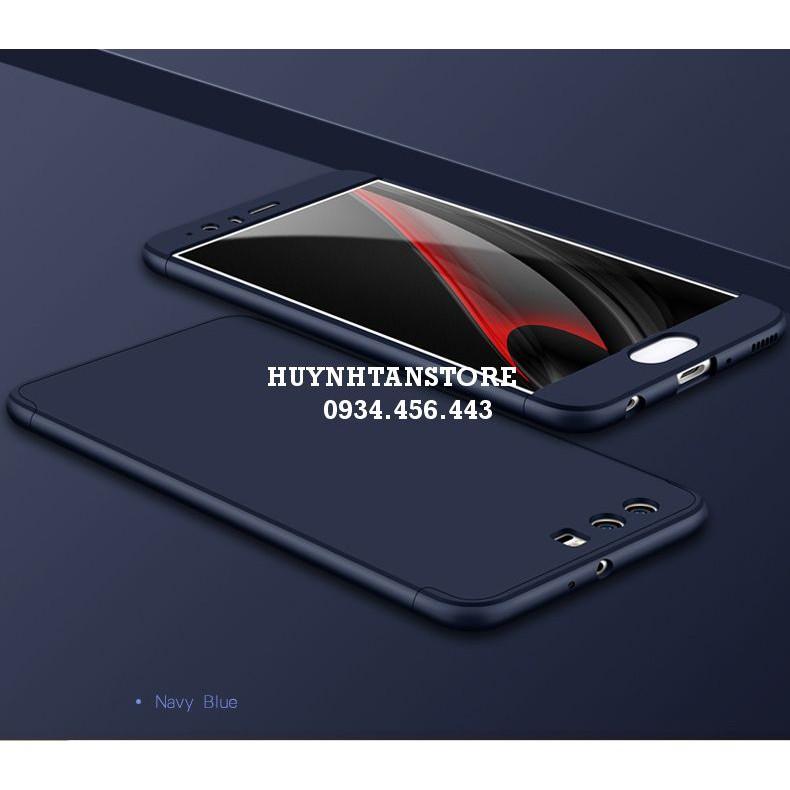 Huawei P10 _ Ốp nhựa 360 full cạnh cà mặt lưng và cạnh trên