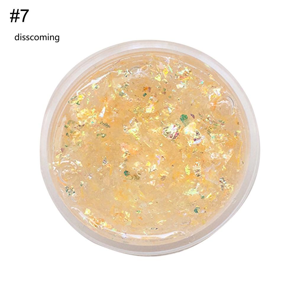60ml DIY Glitter Sequins Sludge Slime Mud Stress Relieve Putty Kids Clay Toy