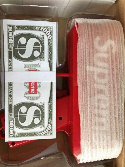 Súng Bắn Tiền Supremen(Full hộp súng, tiền dolar)