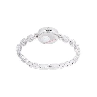 Combo Đồng Hồ Nữ Chính Hãng Royal Crown 5308J dây đá vỏ trắng + 3844SS hoặc 6305SS d