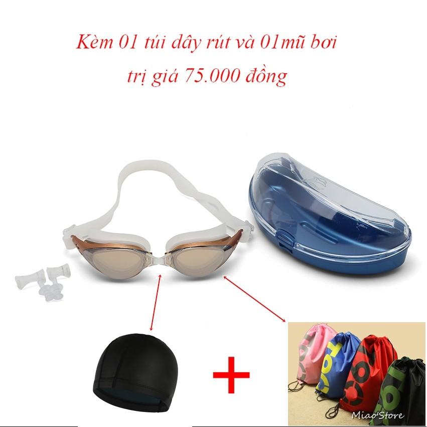 Kính bơi Shenyu tráng bạc kèm mũ bơi và túi đeo vai dây rút tiện lợi - 2945291 , 192764342 , 322_192764342 , 188000 , Kinh-boi-Shenyu-trang-bac-kem-mu-boi-va-tui-deo-vai-day-rut-tien-loi-322_192764342 , shopee.vn , Kính bơi Shenyu tráng bạc kèm mũ bơi và túi đeo vai dây rút tiện lợi