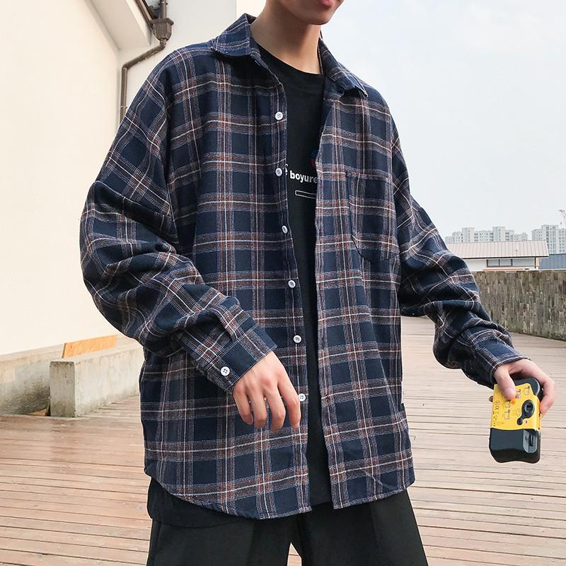 ฤดูใบไม้ร่วงเสื้อชายเสื้อบางส่วนสไตล์ฮ่องกงแจ็คเก็ตเวอร์ชั่นเกาหลีของแนวโน้ม BF