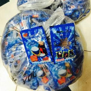 Combo 200 gói tuyết xanh bông bạc – tuyết nhân tạo – slime shop bansigudetama