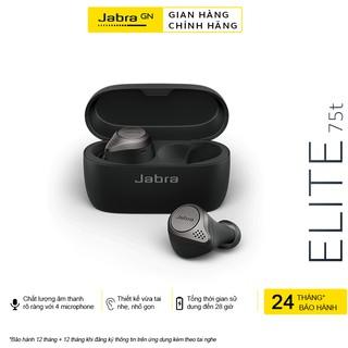 Tai Nghe Bluetooth Không Dây True Wireless Jabra Elite 75T - Hàng Chính Hãng